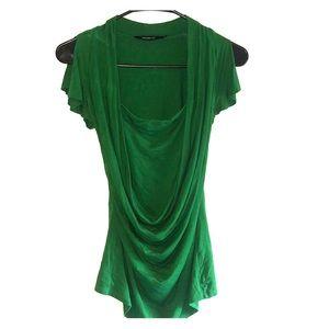 Green flow shirt